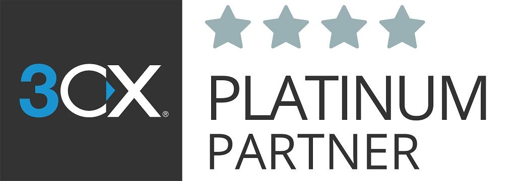 3cx platinum logo